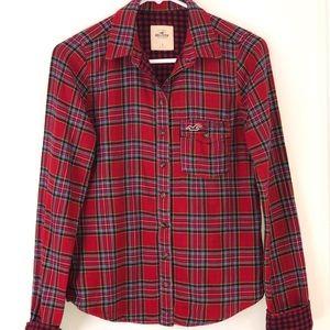 Hollister Plaid Cotton Shirt
